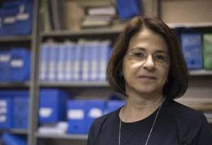 "Política pública. Paula Poncioni, da UFRJ: ""A PM tem oficiais que fazem supervisão, mas é protocolar"" Foto: Julio Cesar Guimaraes / Agência O Globo"