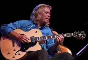 O guitarrista e violinista Victor Biglione encerrará o festival com um show no domingo Foto: Picasa 2.0 / Divulgação