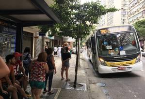 O ônibus 583 Foto: Washington Fajardo