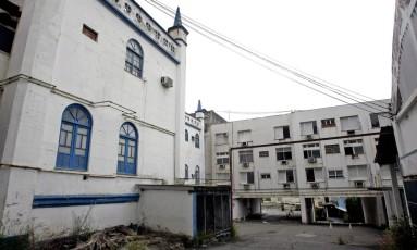 Hospital Santa Cruz, no Centro de Niterói Foto: Luiz Ackermann / Agência O Globo