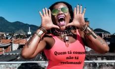 "Tati Quebra Barraco no clipe ""Berro"" Foto: Vincent Rosenblatt"