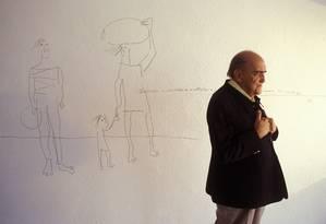 Oscar Niemeyer Foto: Marco Antonio Rezende/BrazilPh
