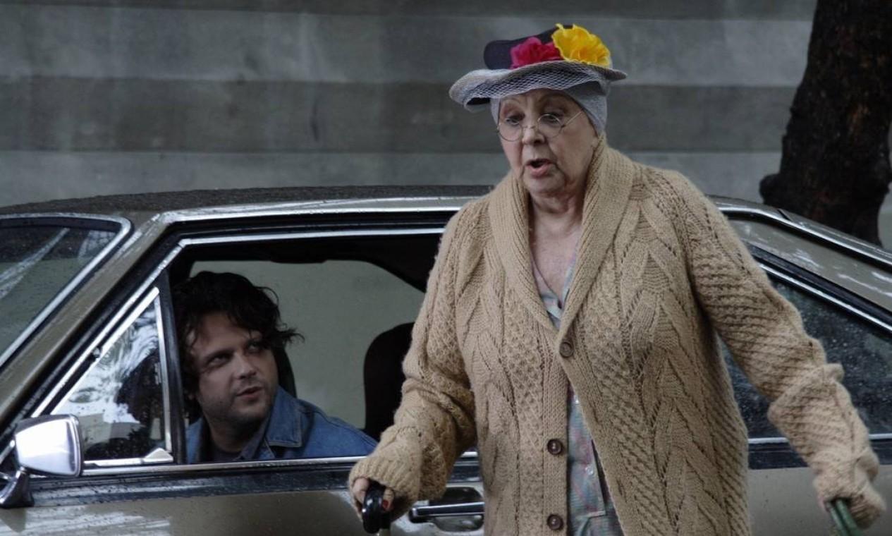 """Eva Todor também atuou em """"Meu nome não é Johnny"""", de 2008, em que ela encarnou uma velhinha que vende drogas. Foto: Divulgação"""