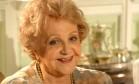 """Eva Todor, no papel de Miss Jane da novela """"América"""", em 2005. Foto: Agência O Globo"""