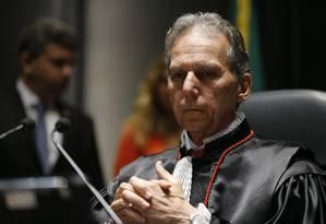 Carlos Eduardo Fonseca Passos toma posse como presidente do Tribunal Regional Eleitoral do Rio (TRE-RJ) Foto: Fernando Frazão/Agência Brasil / Fernando Frazão/05-12-2017