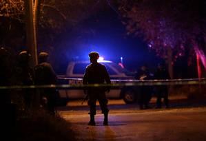Polícia mexicana em ação: onda de violência assola o país Foto: DANIEL BECERRIL / REUTERS