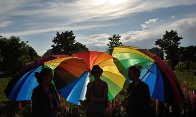 Em 15 de setembro, o juiz federal Waldemar de Carvalho decidiu em favor de 23 psicólogos que ingressaram com a ação popular para poder ofertar terapias para 'reverter' a orientação sexual Foto: DANIEL MIHAILESCU / AFP/17/05/2016