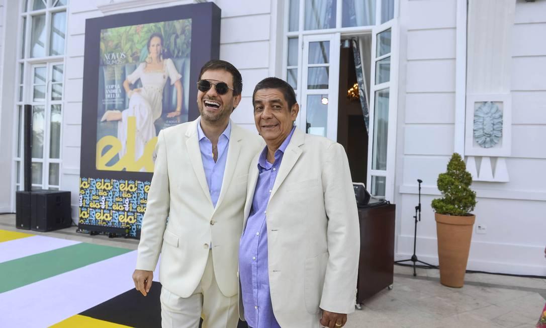 Bruno Astuto e Zeca Pagodinho Foto: Fabio Cordeiro