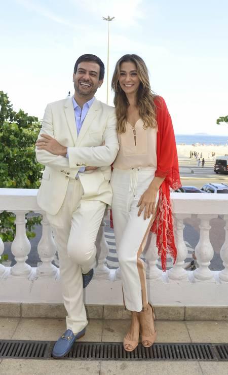 Bruno Astuto e Mônica Martelli Foto: FABIO CORDEIRO / Fabio Cordeiro