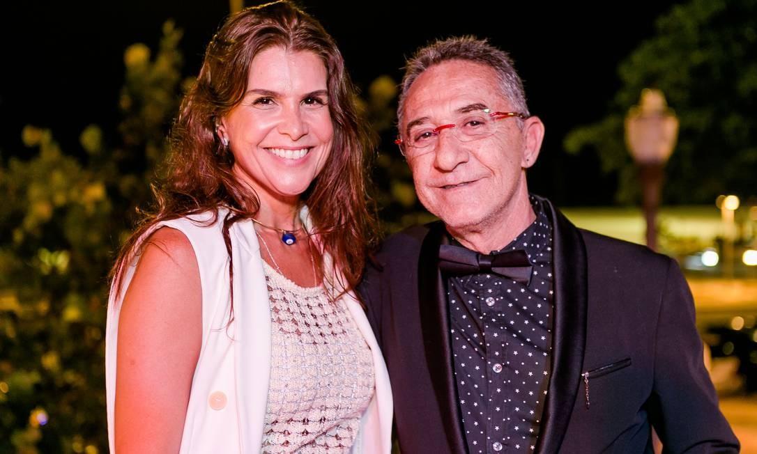 Ana Paula Padua e Cesar Hasky Foto: Bruno Ryfer / www.brunoryfer.com