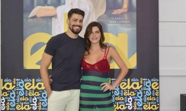 Cauã Reymond e Mariana Goldfarb Foto: Fabio Cordeiro