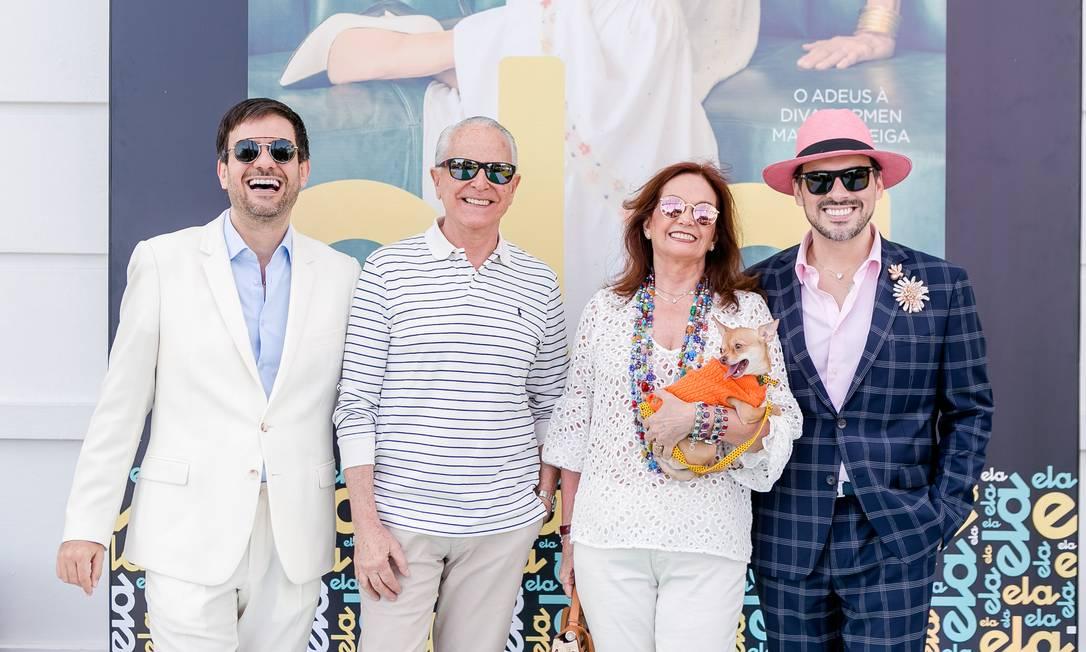 Bruno Astuto, Ricardo e Sueli Stambowski e Sandro Barros Foto: Bruno Ryfer / www.brunoryfer.com