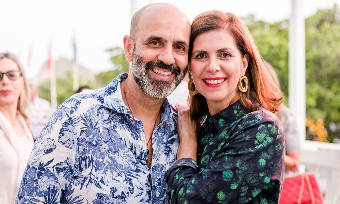 Claudio Gomes e Nana Paranagua Foto: Bruno Ryfer / www.brunoryfer.com