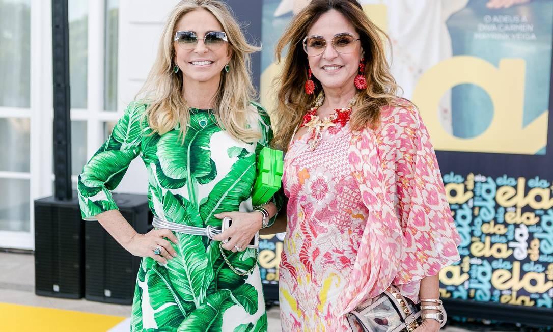 Regina Giacomelli e Deborah Bueno Foto: Bruno Ryfer / www.brunoryfer.com