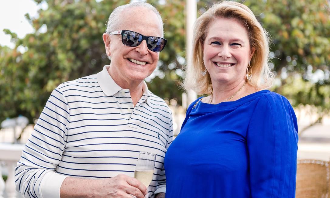 Ricardo Stambowski e Glória Severiano Ribeiro Foto: Bruno Ryfer / www.brunoryfer.com