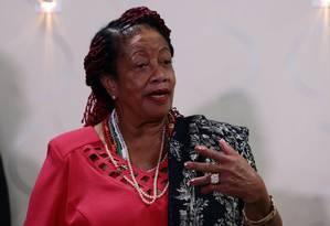 A ministra dos Direitos Humanos, Luislinda Valois Foto: Givaldo Barbosa/Agência O Globo/31-03-2017