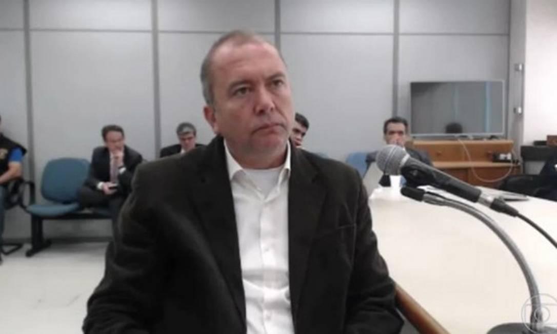 O operador do ex-governador Sérgio Cabral, Carlos Miranda Foto: Reprodução