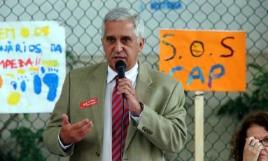 O deputado estadual e vice-prefeito eleito de Niterói, Comte Bittencourt (PPS) Foto: Fabiano Rocha / Agência O Globo