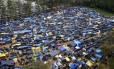 Terreno ocupado pelo Movimento dos Trabalhadores Sem Teto (MTST), em São Bernardo do Campo Foto: Edilson Dantas / Edilson Dantas/Agência O Globo