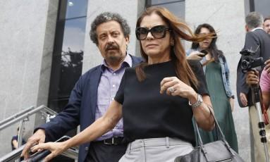 João Santana e Mônica Moura confirmam caixa 2 para campanha de Haddad à PF de SP Foto: Edilson Dantas / Agência O Globo