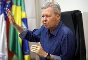 O prefeito de Manaus, Arthur Virgílio Foto: Reprodução/Facebook
