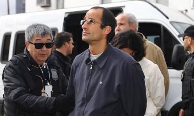 Marcelo Odebrecht é preso pela Polícia Federal Foto: Geraldo Bubniak/Agência O Globo/20-06-2015