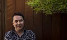 O repórter da New York Ryan Lizza, durante entrevista ao GLOBO, em outubro Foto: Alexandre Cassiano / Agência O Globo