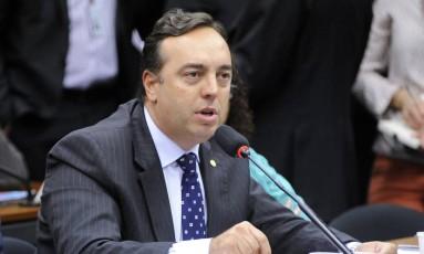 O deputado Fernando Francischini (SD-PR) participa de audiência Foto: Alex Ferreira / Câmara dos Deputados