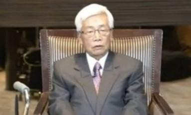 Satoru Anzaki foi diagnosticado com câncer terminal Foto: Japan Broadcasting Corporation/NHK