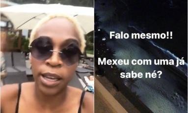 Karol Conka relatou no Instagram um caso de assédio em hotel no Rio Foto: Instagram/Reprodução