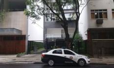 Prédio onde turista inglês foi encontrado morto Foto: Giselle Ouchana / O Globo