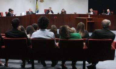 Sessão da Primeira Turma do Supremo Tribunal Federal Foto: Carlos Moura/STF