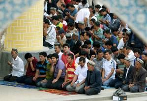 Os uigures são uma minoria muçulmana de origem turca que vivem, sobretudo, na província chinesa de Xinjiang