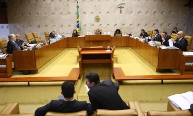 Julgamento que decide se PF pode fechar delação é interrompido Foto: Ailton de Freitas / Agência O Globo