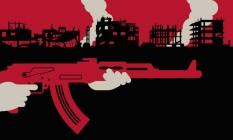 "Especial ""A Guerra do Brasil"" Foto: Editoria de Arte"