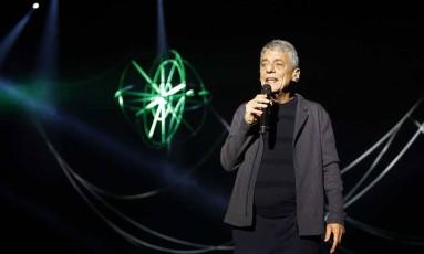 Chico Buarque estreou a turnê 'Caravanas' no Palácio das Artes, em Belo Horizonte Foto: Leo Aversa / Divulgação