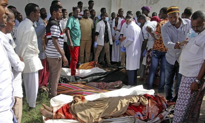 Pelo menos 17 mortos em ataque suicida na capital da Somália