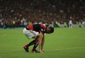 Rubro-negro foi vice da Copa Sul-Americana Foto: Alexandre Cassiano / Agência O Globo