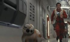 O robô BB8 em cena de 'Star Wars: Os últimos Jedi' Foto: Divulgação