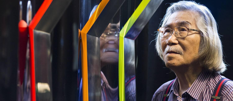 Yutaka Toyota, um dos artistas em cartaz no MAM Rio Foto: Ana Branco / Agência O Globo