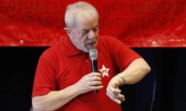 O Ex-presidente Luiz Inácio Lula da Silva Foto: Edilson Dantas / Agência O Globo 10/06/2017