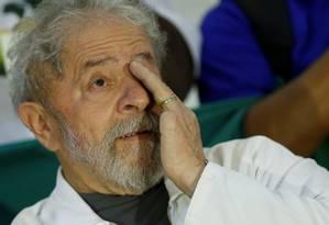 O ex-presidente Luiz Inácio Lula da Silva Foto: ADRIANO MACHADO / REUTERS 13/12/2017
