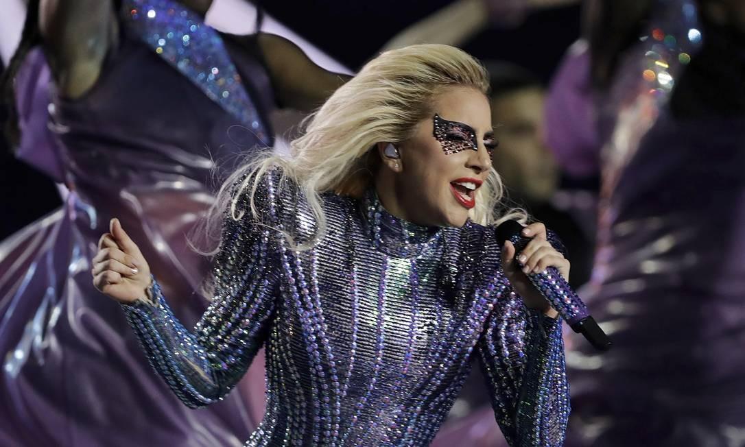Lady Gaga canta em show nos Estados Unidos. Foto: Darron Cummings/AP Foto: /