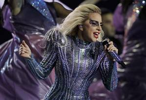 Lady Gaga canta em show nos Estados Unidos. Foto: Darron Cummings/AP
