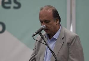De acordo com Pezão, primeira parcela do empréstimo (de R$ 2 bilhões) cai na próxima quarta-feira Foto: Alexandre Cassiano / O Globo