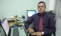 Filho de agricultora, advogado de Teresina ganha R$ 10 mil por mês Foto: Efrém Ribeiro / Especial O GLOBO