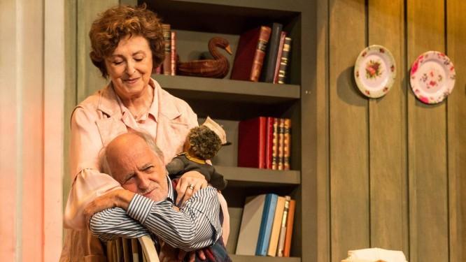 Ary Fontoura e Ana Lucia Torre: protagonistas de uma crise de gerações Foto: joaoacaldas@uol.com.br / Divulgação / João Caldas