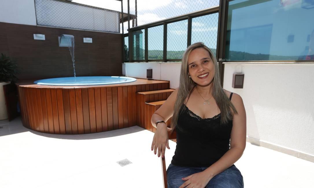 A empresária Camila Corrêa quer trocar um imóvel em São Paulo por outro em Icaraí, Niterói Foto: Agência O Globo