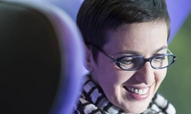 """""""A colaboração vai dominar o mundo, e vai ser em breve"""", diz a publicitária Izabella Ceccato Foto: Ana Branco / Agência O Globo"""