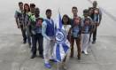 Independentes. Cores da escola homenageiam o Olaria Atlético Clube Foto: Pedro Teixeira / Agência O Globo